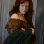 Stacey Carmichael as Isabella Linton in Wuthering Heights