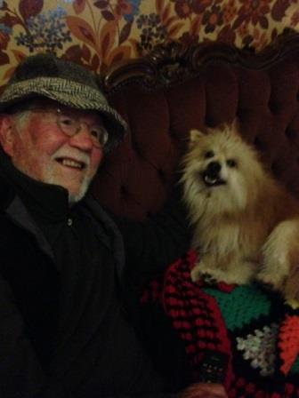"Dennis and little Teddy 2014 ""My Best Mate!"""
