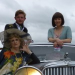 Elaine, Ben and Joss (Hayfever 2012)