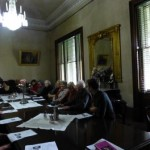 Dining Room at Barwon Park Poetry Reading