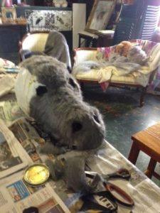 Donkey mask 3